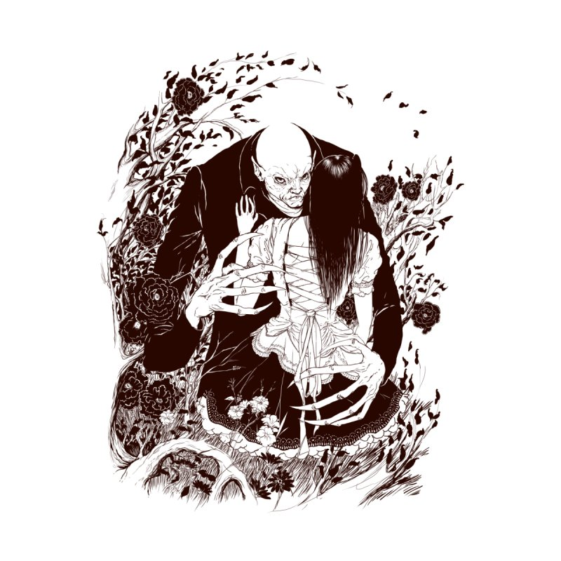 Nosferatu - Edno Pereira Jr. Men's T-Shirt by Threadless Artist Shop