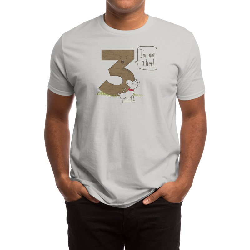 I'm Not a Tree Men's T-Shirt by Threadless Artist Shop
