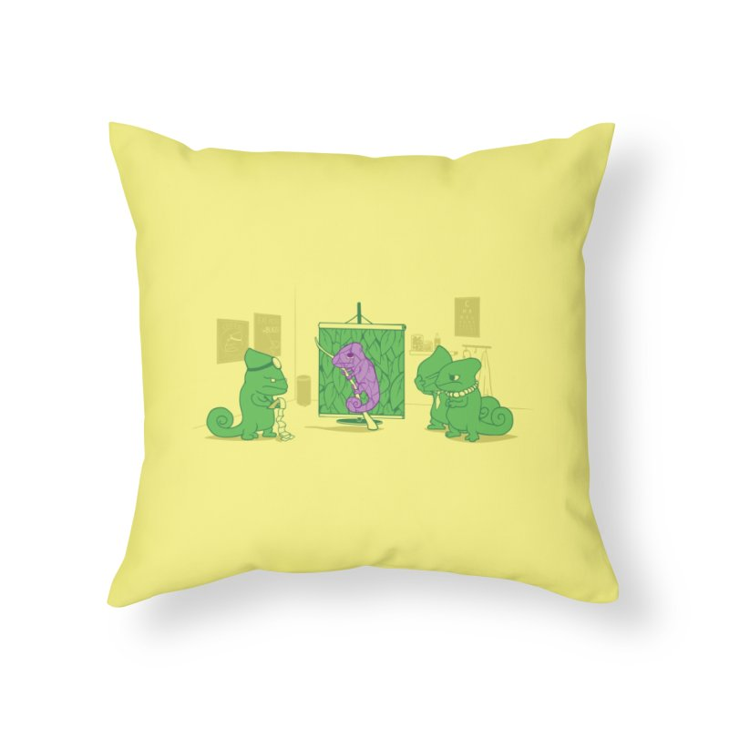 Uncovering the Problem Home Throw Pillow by Threadless Artist Shop