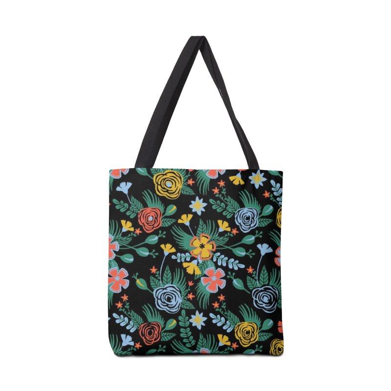 Flower Bucket Accessories Bag by Threadless Artist Shop