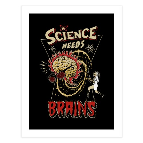 image for Science Needs Brains