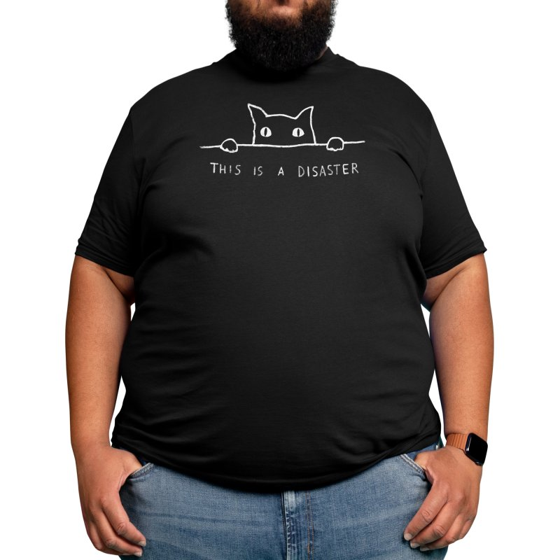 This is A Disaster Men's T-Shirt by Threadless Artist Shop