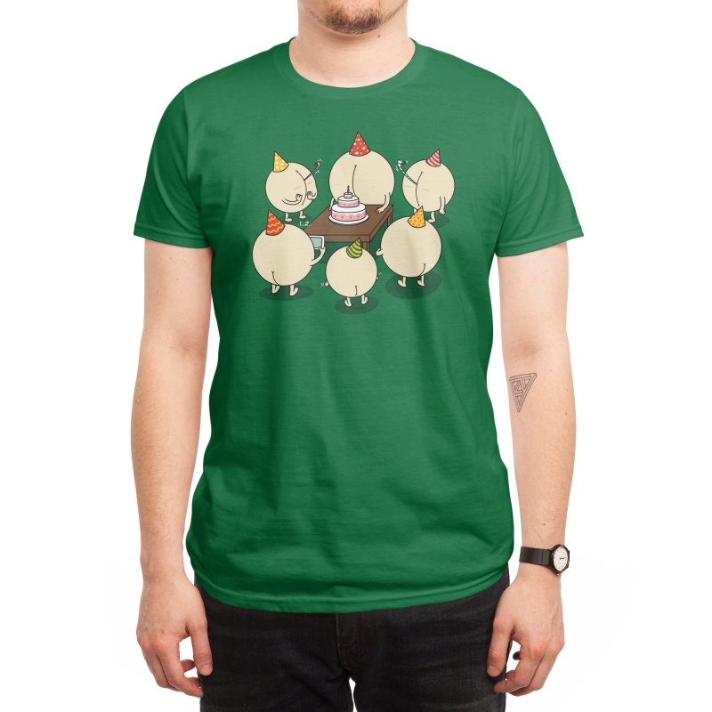 Buttday Farty Men's T-Shirt by Threadless Artist Shop