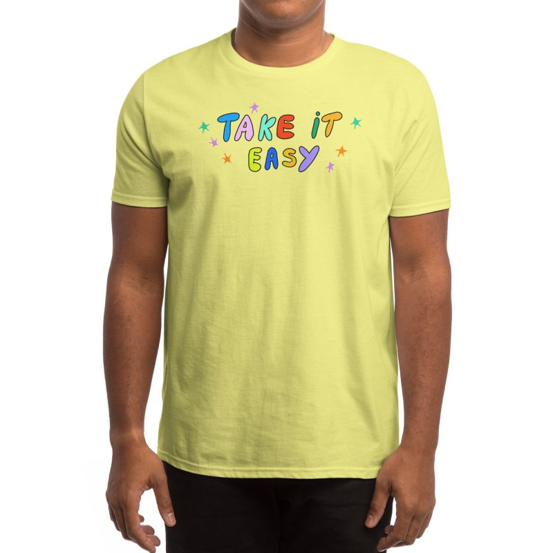 Take It Easy Men's T-Shirt by Threadless Artist Shop