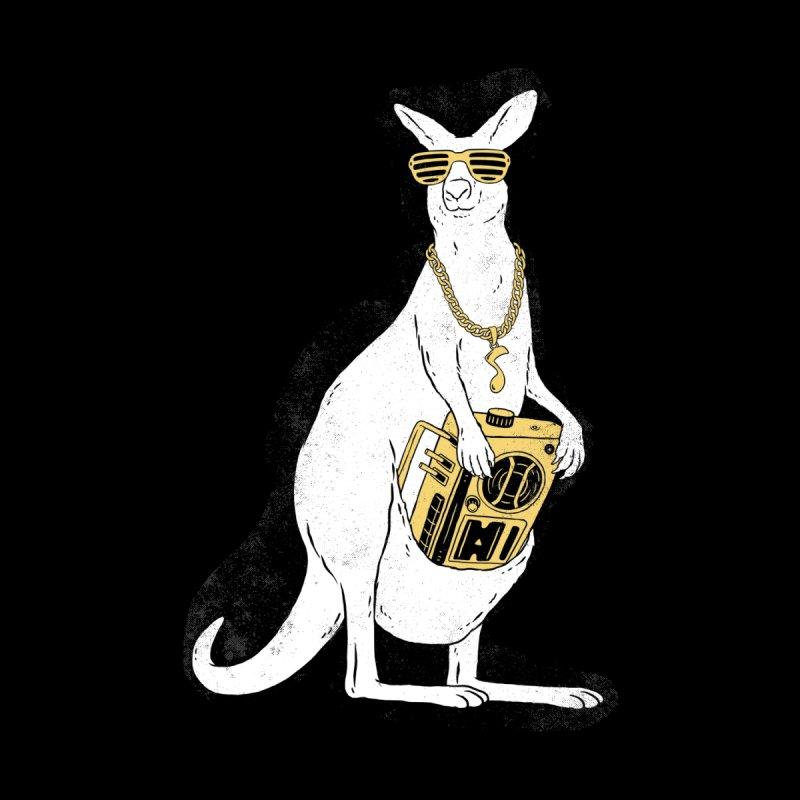 Hip Hop Kangaroo Men's T-Shirt by Threadless Artist Shop