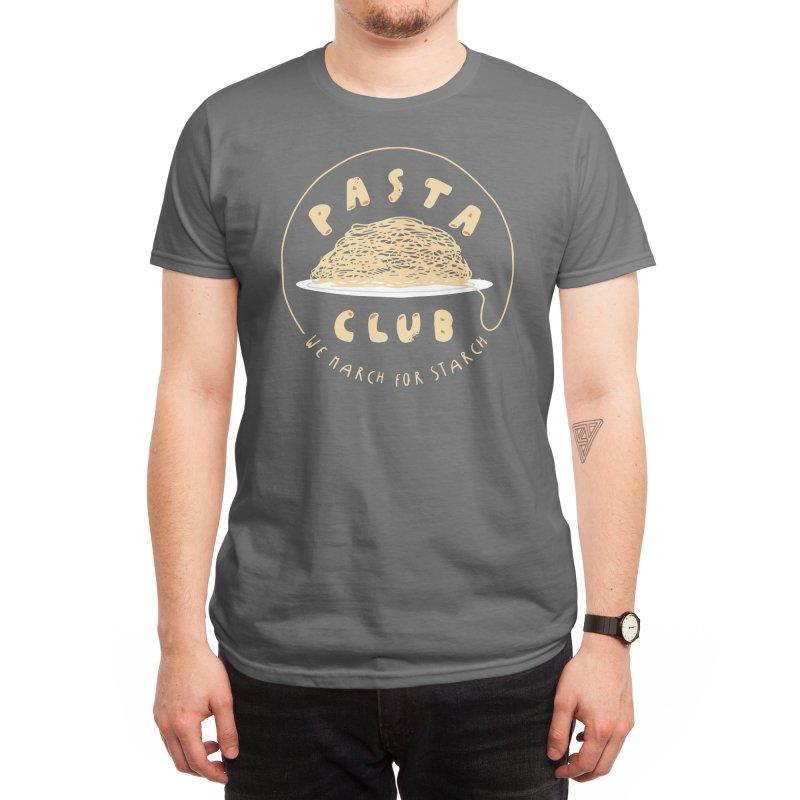 Pasta Club Men's T-Shirt by Threadless Artist Shop