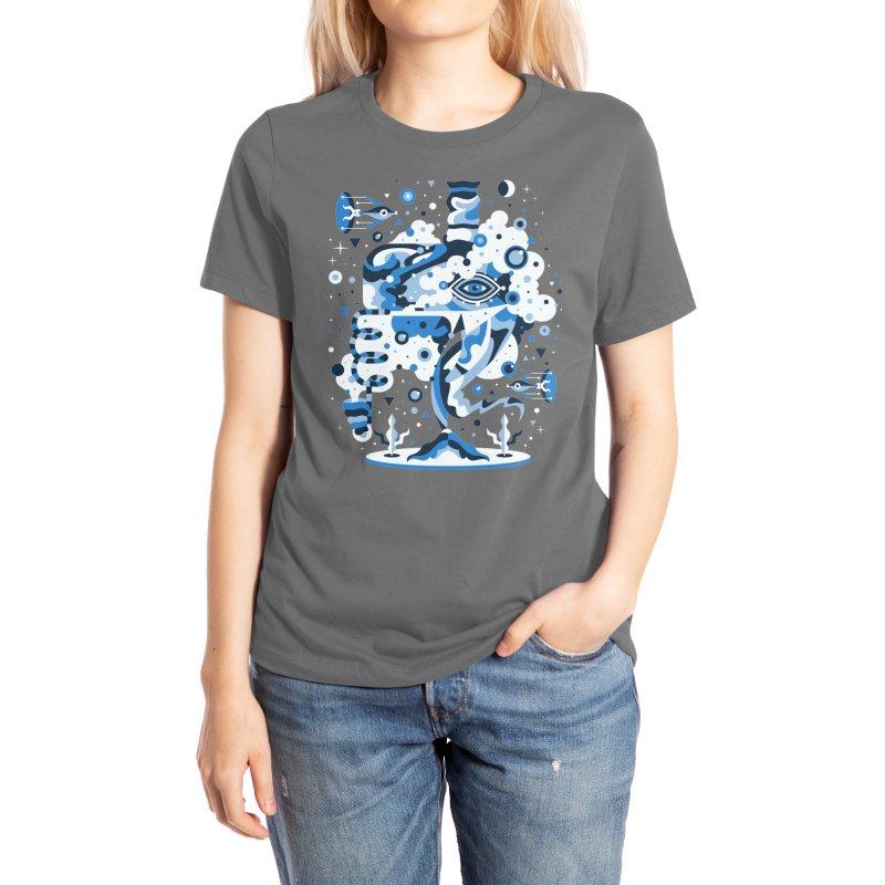Classic Blue Women's T-Shirt by Threadless Artist Shop