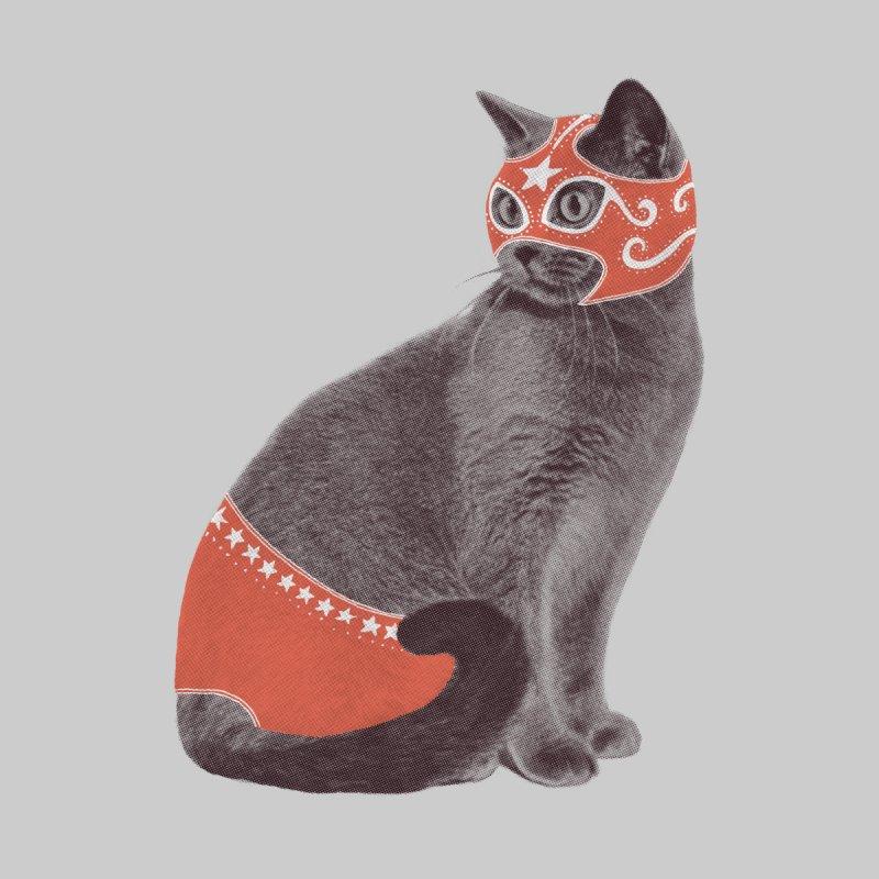 Cat Wrestler Men's T-Shirt by Threadless Artist Shop