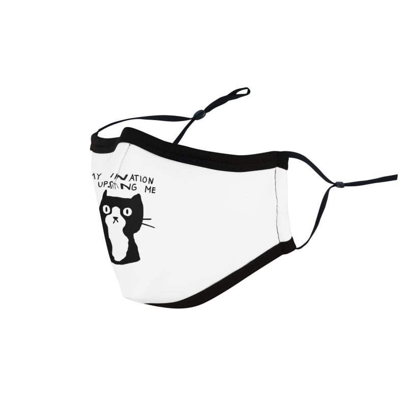 My Imagination is Upsetting Me Accessories Face Mask by Threadless Artist Shop