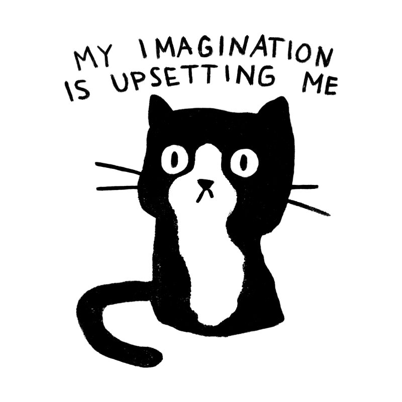 My Imagination is Upsetting Me Men's T-Shirt by Threadless Artist Shop