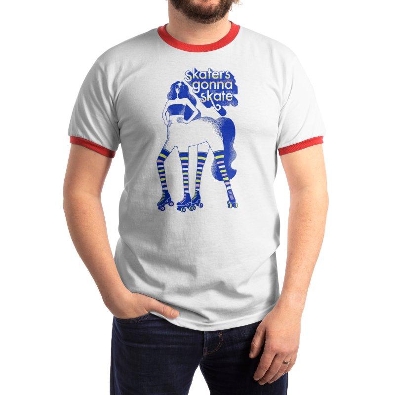 Skaters Gonna Skate Men's T-Shirt by Threadless Artist Shop