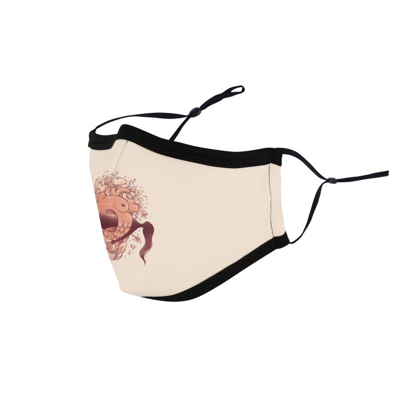 Love in Bloom Accessories Face Mask by Threadless Artist Shop