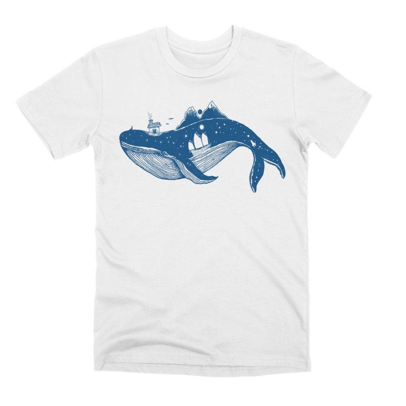 Home (A Whale From Home) Men's T-Shirt by Threadless Artist Shop