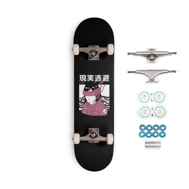ESC Reality Accessories Skateboard by Threadless Artist Shop