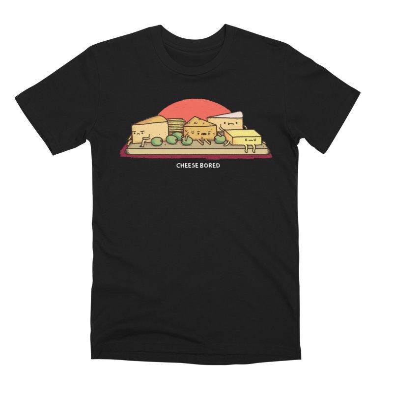 Cheese Bored Men's T-Shirt by Threadless Artist Shop