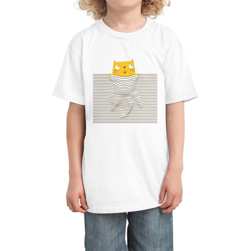 M!aw Kids T-Shirt by Threadless Artist Shop