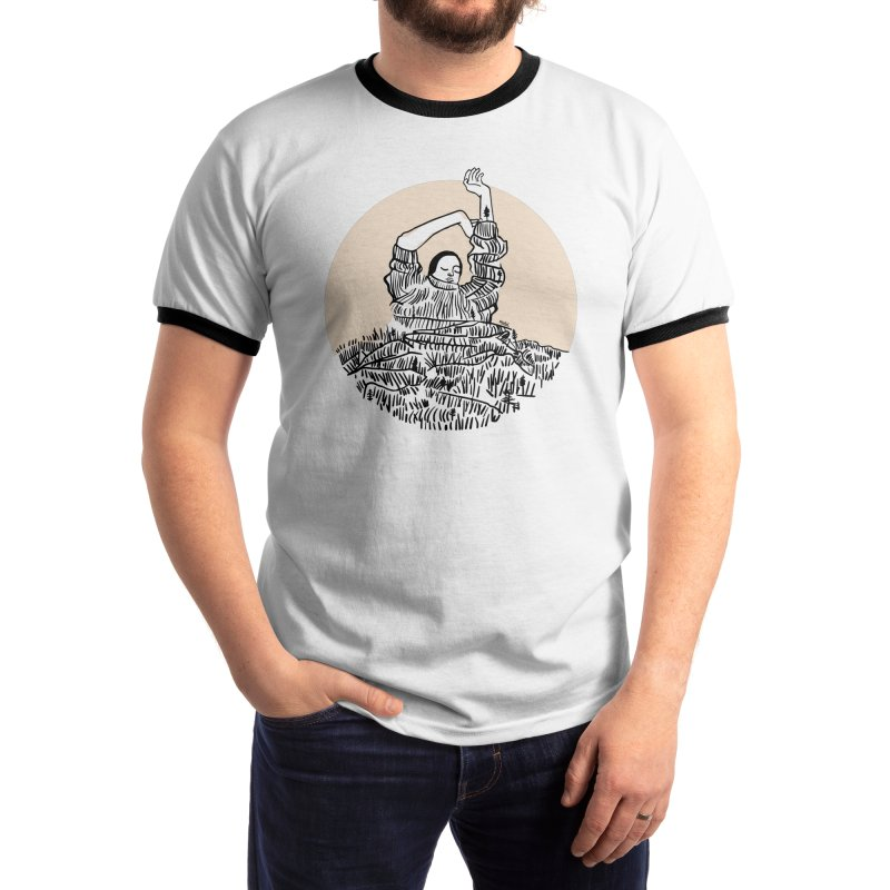 Wearing the Forest Men's T-Shirt by Threadless Artist Shop