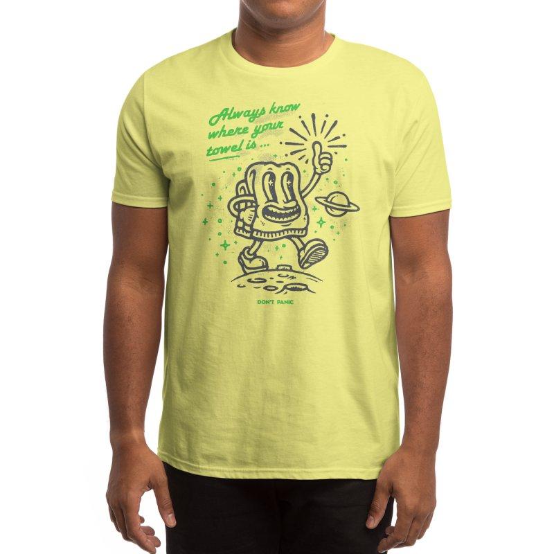 Don't Panic Men's T-Shirt by Threadless Artist Shop