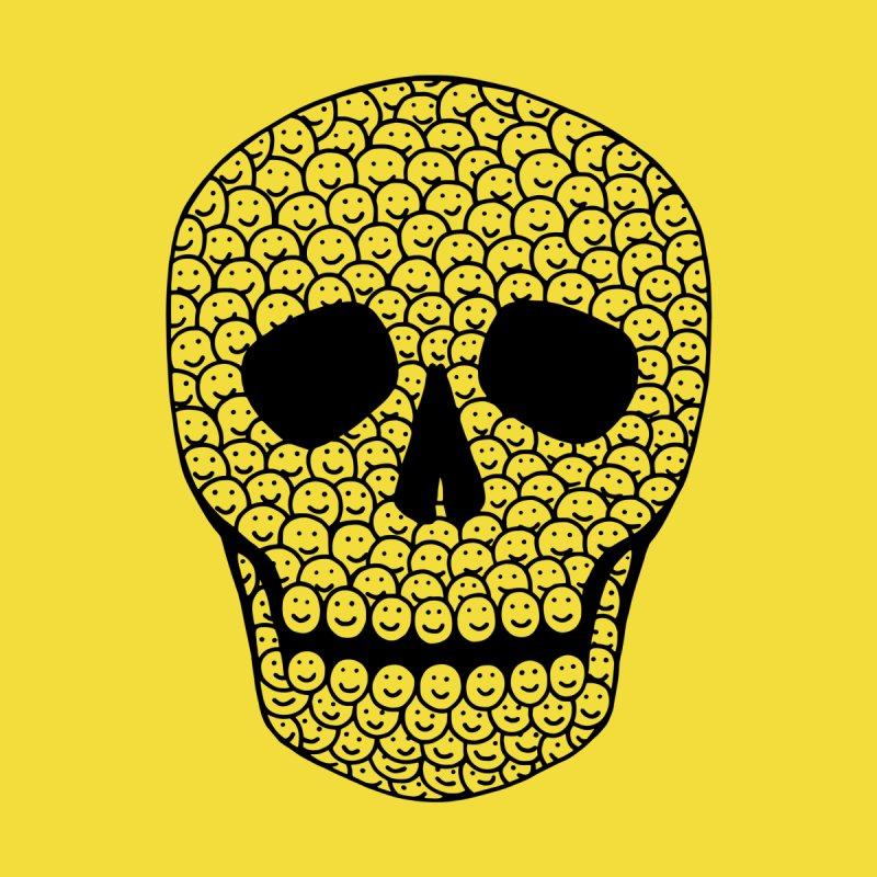 Smiley Skull Men's T-Shirt by Threadless Artist Shop
