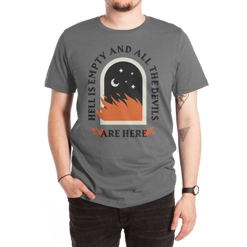 Hell is Empty Men's T-Shirt by Threadless Artist Shop