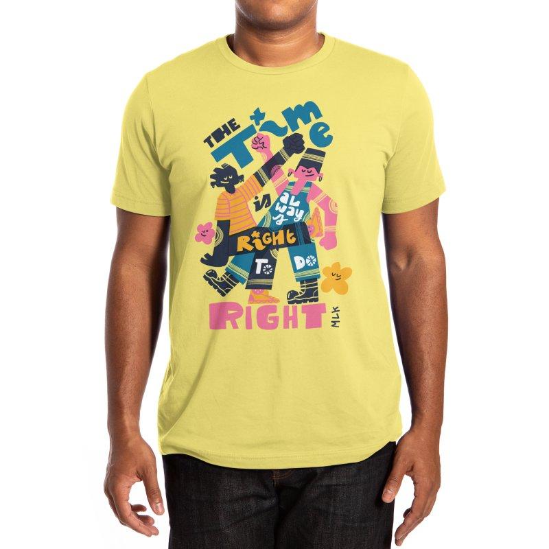 Do Right Men's T-Shirt by Threadless Artist Shop