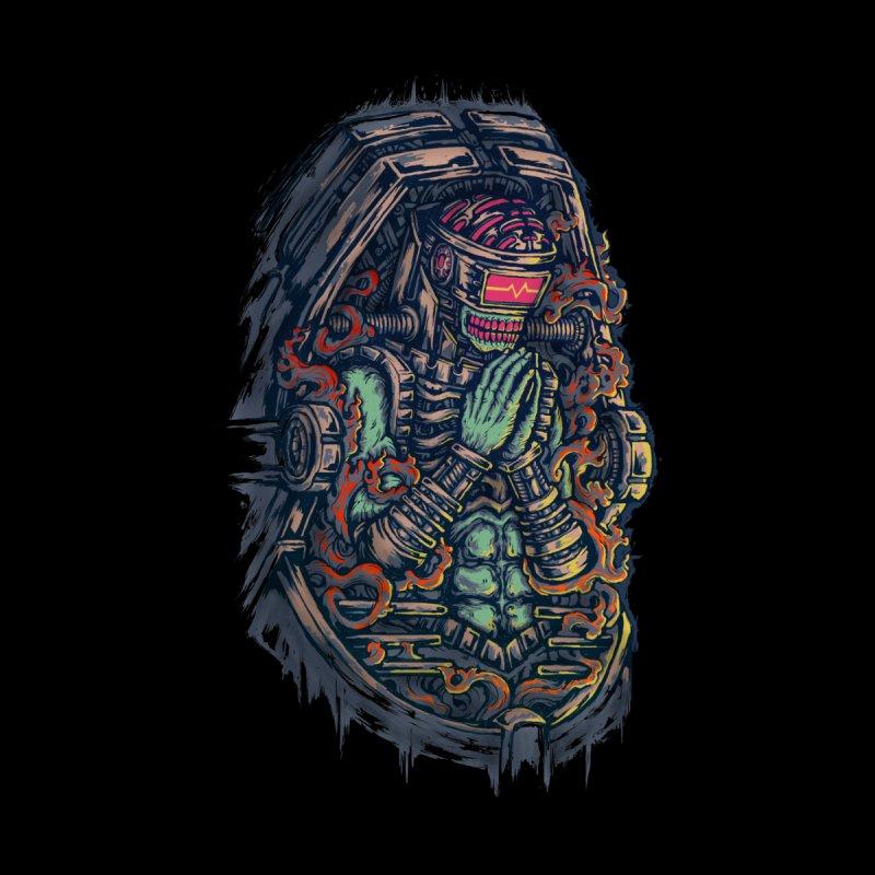 Cyborg Pray Men's T-Shirt by Threadless Artist Shop