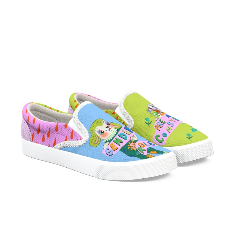 Gender Roles Are A Social Construct Men's Shoes by Threadless Artist Shop