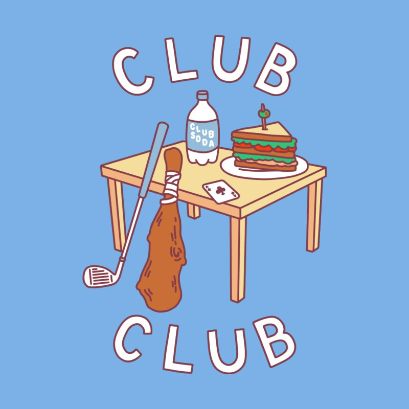 Club Club Men's T-Shirt by Threadless Artist Shop