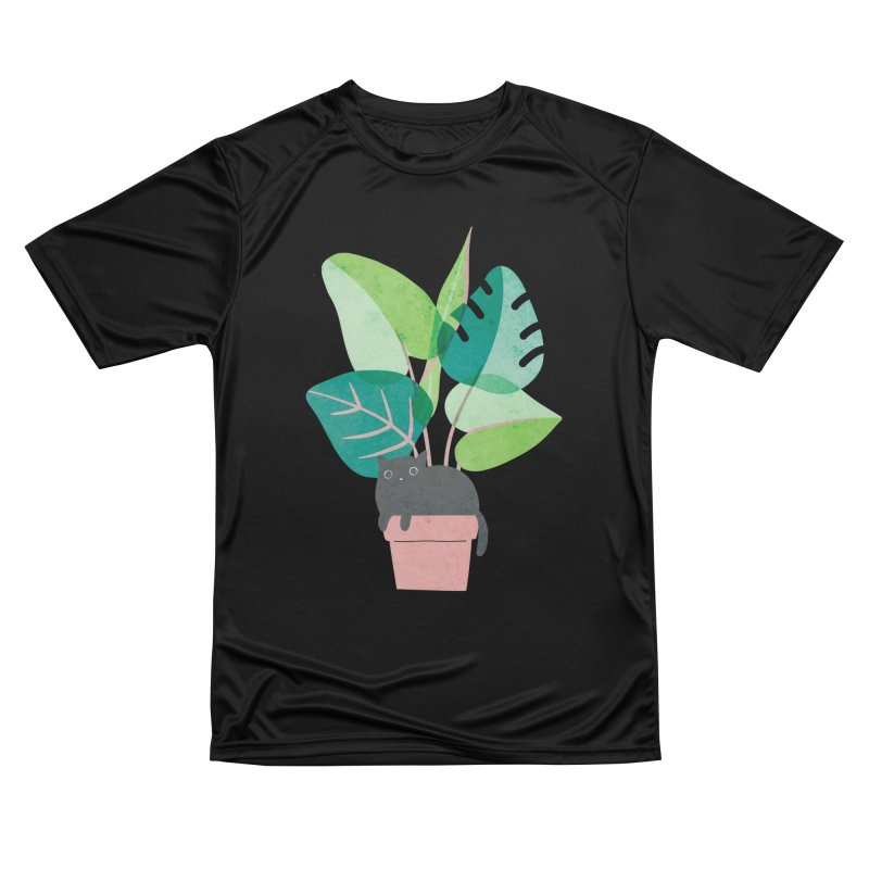 Monstera Cat Men's T-Shirt by Threadless Artist Shop