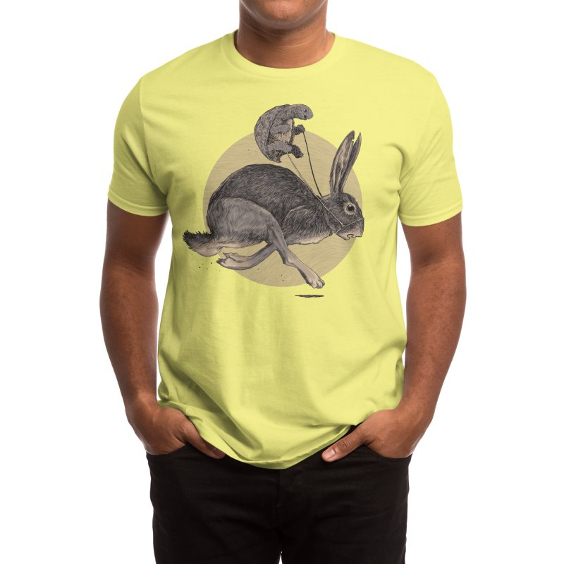 The Tortoise and the Hare Men's T-Shirt by Threadless Artist Shop