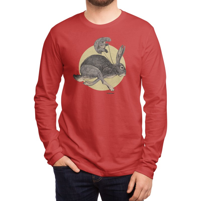 The Tortoise and the Hare Men's Longsleeve T-Shirt by Threadless Artist Shop