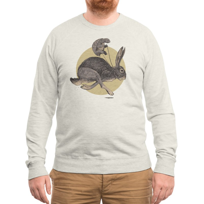 The Tortoise and the Hare Men's Sweatshirt by Threadless Artist Shop