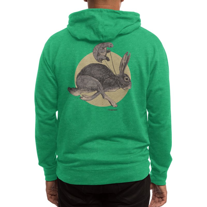 The Tortoise and the Hare Men's Zip-Up Hoody by Threadless Artist Shop