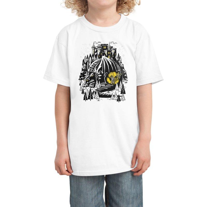 Hidden Danger Kids T-Shirt by Threadless Artist Shop