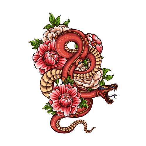Design for Pink Floral Dragon