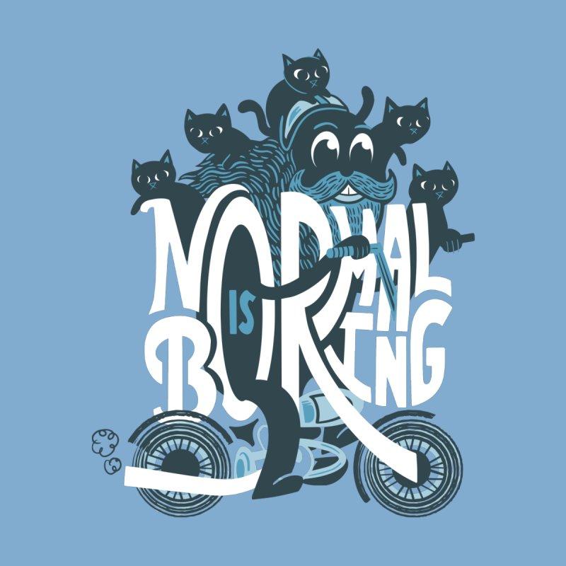 Normal Is Boring Men's T-Shirt by Threadless Artist Shop