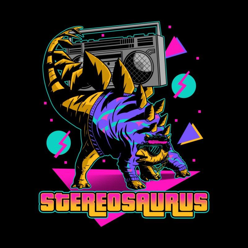 Stereosaurus - A Rad Dinosaur Men's T-Shirt by Threadless Artist Shop
