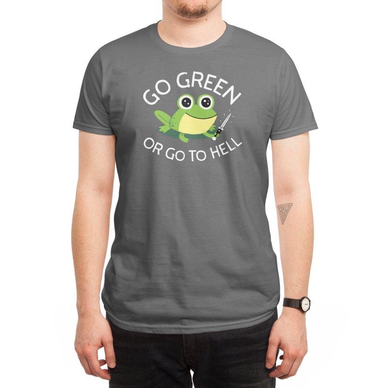 Go Green Men's T-Shirt by Threadless Artist Shop