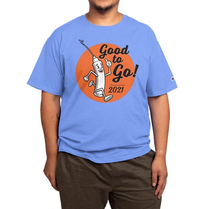 Lil' Vaxy is Good to Go! Men's T-Shirt by Threadless Artist Shop