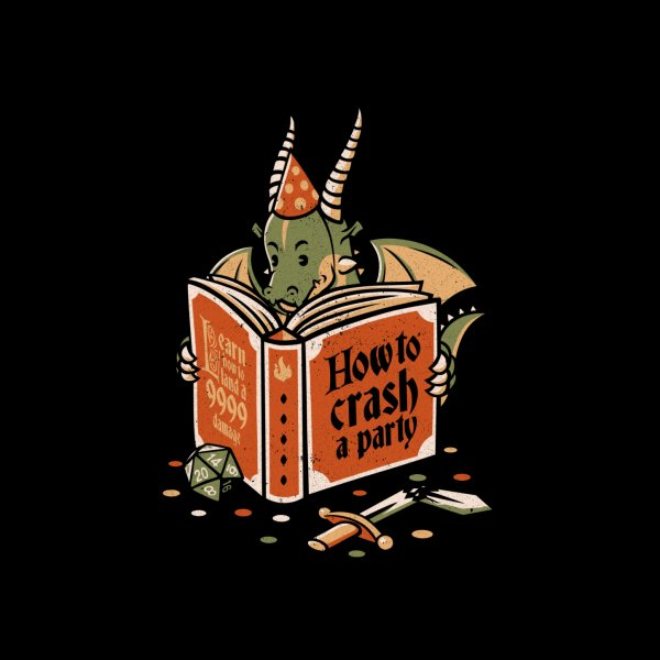image for Dragon Reading a Book RPG Party Crashing