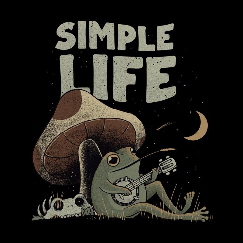 Simple Life Men's T-Shirt by Threadless Artist Shop