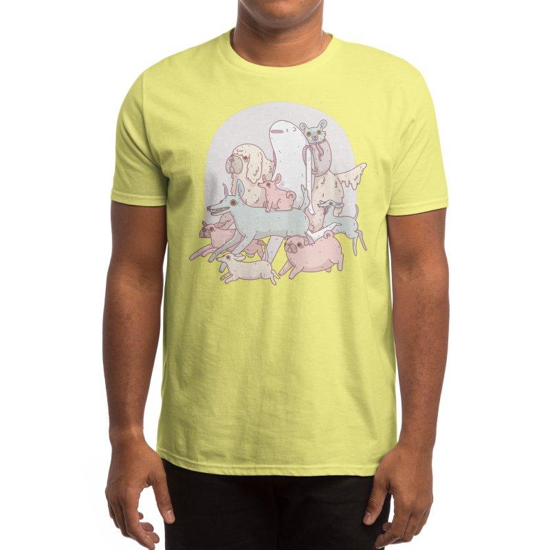 Dog Walker Men's T-Shirt by Threadless Artist Shop