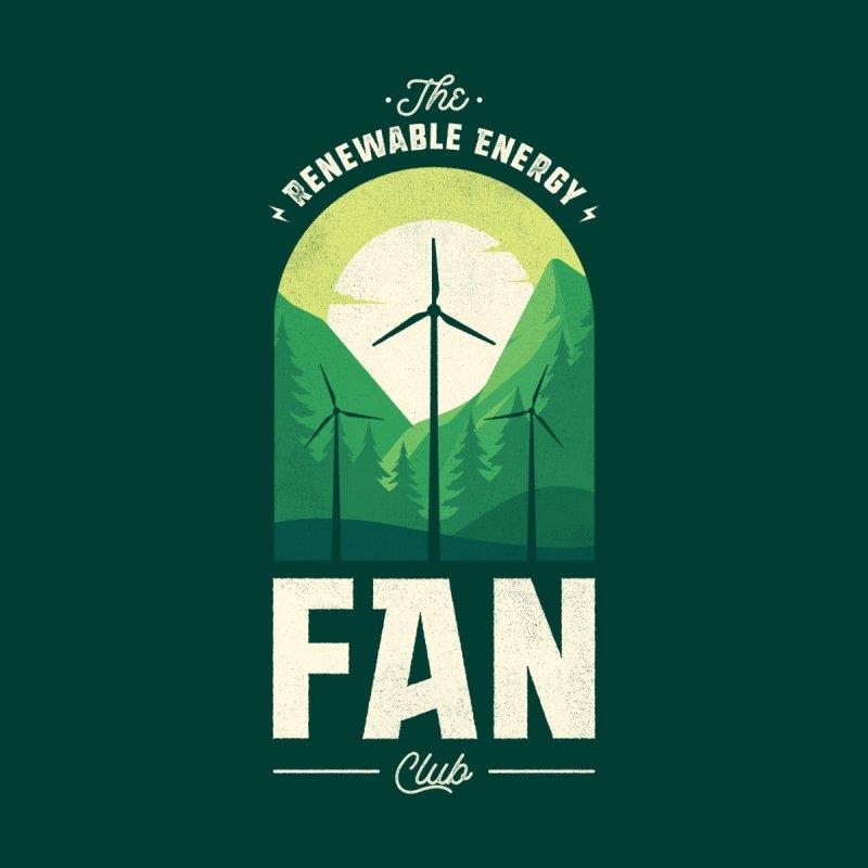 The Fan-tastic Renewable Energy Fan Club Men's T-Shirt by Threadless Artist Shop