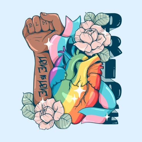 Design for Pride Love is Love