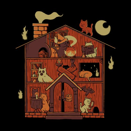 Design for Haunted House Cat