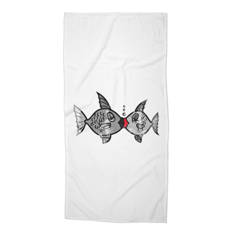 From Alassio With Love Accessories Beach Towel by Threaska