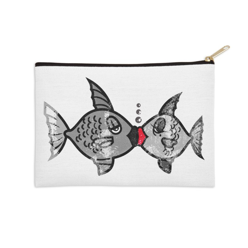 From Alassio With Love Accessories Zip Pouch by Threaska