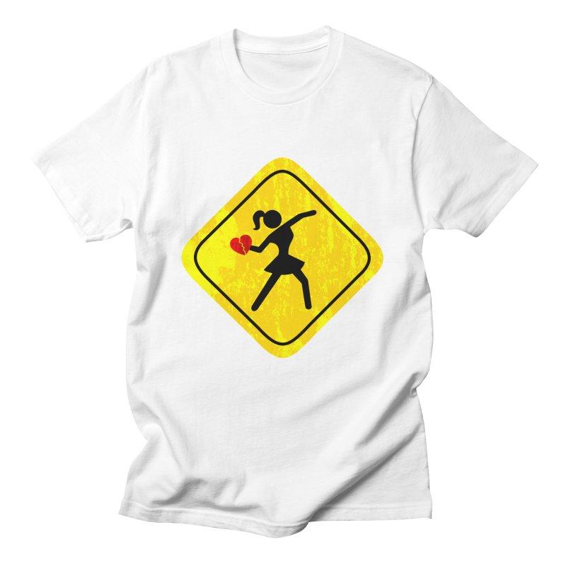 ELLE  in Men's Regular T-Shirt White by Threaska