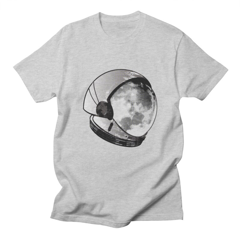 Astromoonical in Men's T-shirt Heather Grey by Threaska
