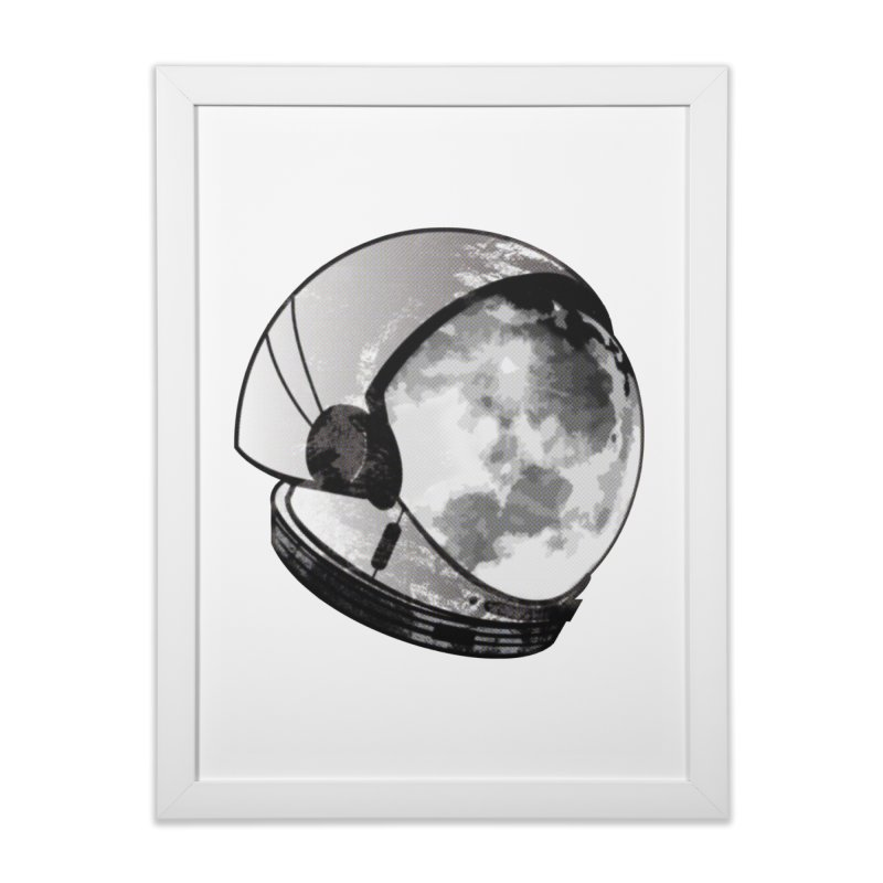 Astromoonical Home Framed Fine Art Print by Threaska